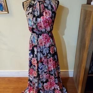 Gorgeous Floor Length J LO Floral Dress